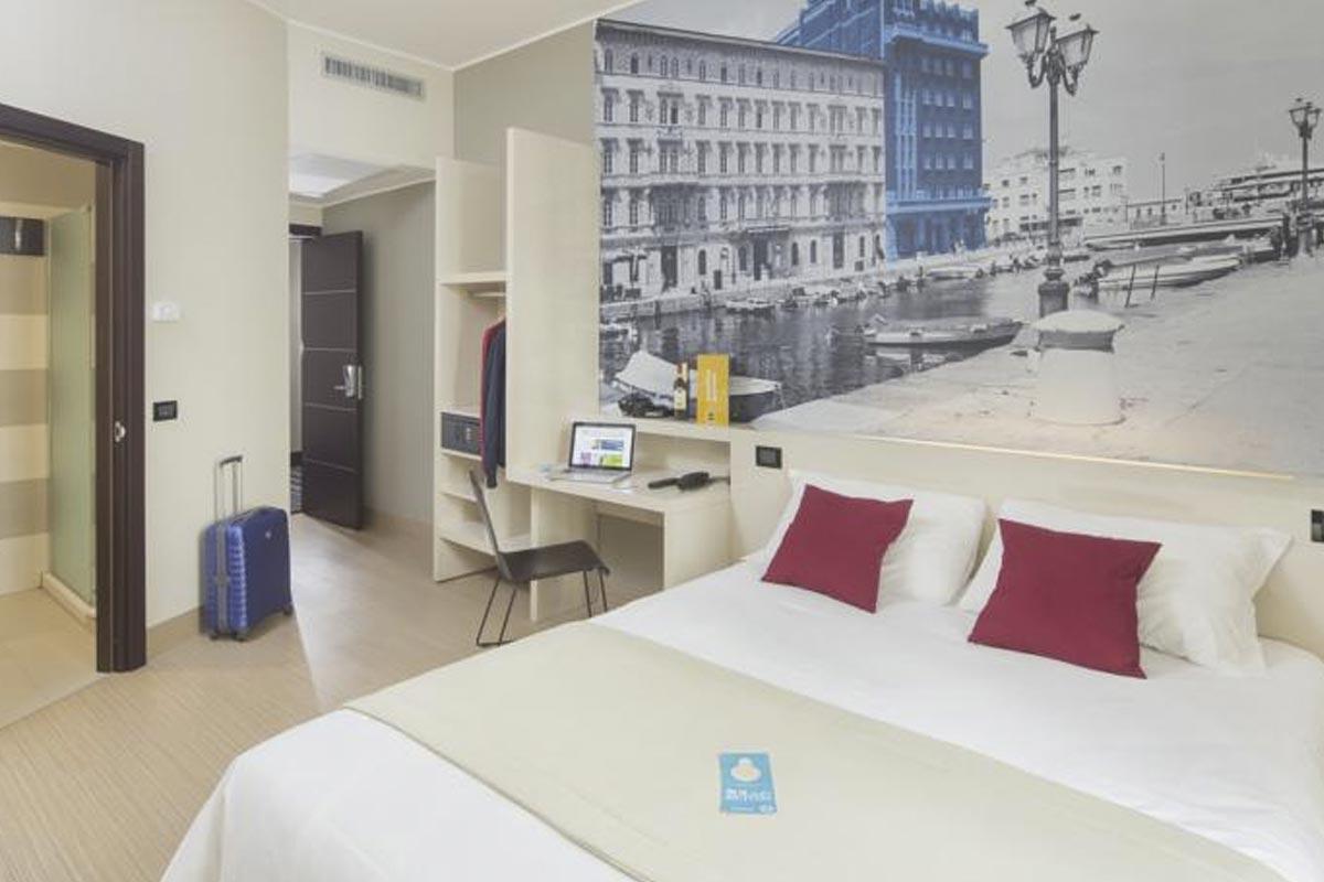 Letto Matrimoniale A Trieste.Le Camere Novo Hotel Impero Trieste